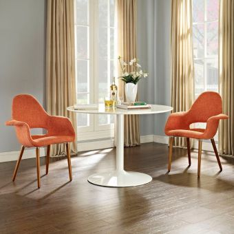 Aegis Dining Armchair Set of 2 (Orange)