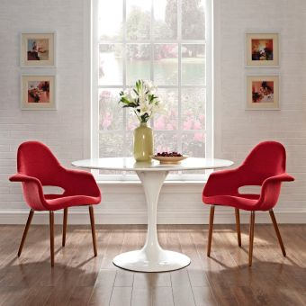 Aegis Dining Armchair Set of 2 (Red)