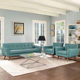 Engage Armchairs and Sofa Set of 3 (Laguna)