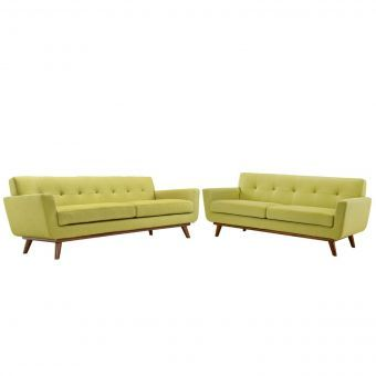 Engage Loveseat and Sofa Set of 2 (Wheatgrass)