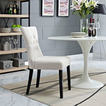 Silhouette Dining Side Chair (Beige)