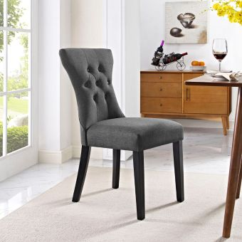 Silhouette Dining Side Chair (Gray)