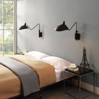 View Wall Lamp (Black)