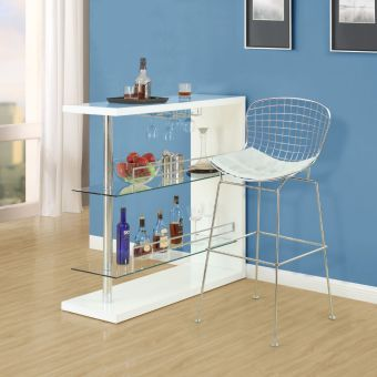 CAD Bar Stool (White)