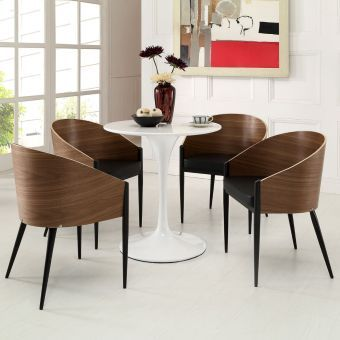 Cooper Dining Chairs Set of 4 (Walnut)
