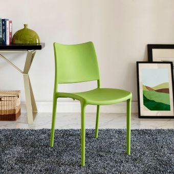 Hipster Dining Side Chair (Green)