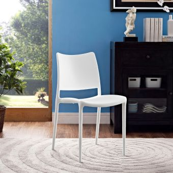 Hipster Dining Side Chair (White)