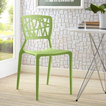 Astro Dining Side Chair (Green)