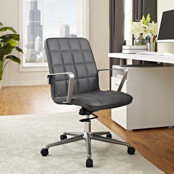 Tile Office Chair (Gray)