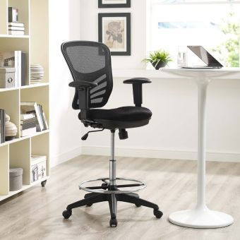 Articulate Drafting Chair (Black)