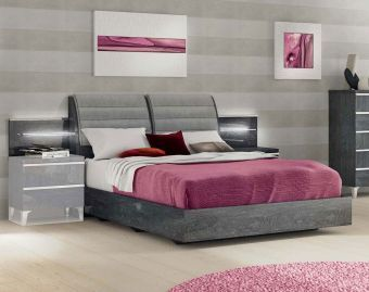 ✅ Elite Queen Size Bed by ESF | VivaSalotti.com | pic1