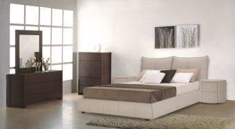 Excite Contemporary Queen Size Bed