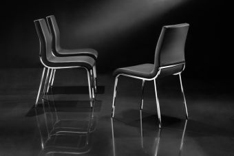 ✅ Fabiano Dining Chair Black | VivaSalotti.com | pic3