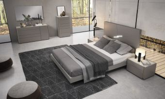 ✅ Faro Premium Bedroom Set Grey | VivaSalotti.com | pic7