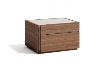✅ Faro Left Facing Nightstand Walnut | VivaSalotti.com | pic2