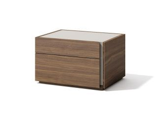 ✅ Faro Right Facing Nightstand Walnut | VivaSalotti.com | pic2