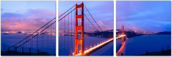 ✅ Wall Art Golden Gate Bridge | VivaSalotti.com | pic1