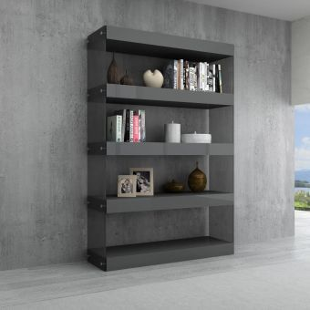✅ Cloud Curio Unit in Grey High Gloss | VivaSalotti.com | pic1