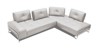 ✅ I763 Sectional RHF Chaise in Light Blue | VivaSalotti.com | pic