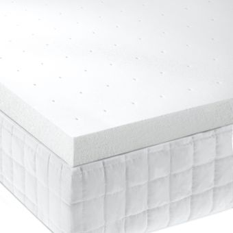 "Isolus 2"" Memory Foam Mattress Topper, King"