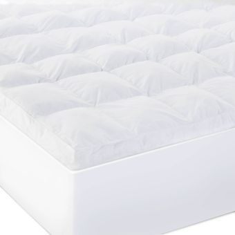 "Isolus 3"" Down Alternative Mattress Topper, Cal King"