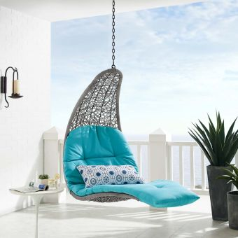✅ Landscape Outdoor Patio Hanging Chaise Lounge Outdoor Patio Swing Chair   VivaSalotti.com   pic