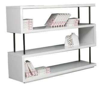 Modrest Stage3 White Wall Unit