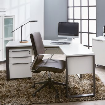 ✅ Kalmar White 32 Return Desk | VivaSalotti.com | pic3