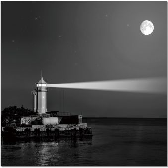✅ Wall Art Light House | VivaSalotti.com | pic1