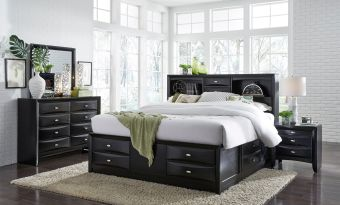 ✅ Linda Black Bedroom Set | VivaSalotti.com | pic