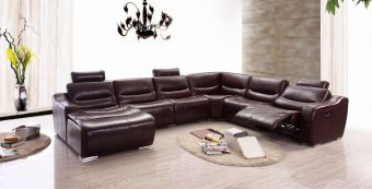 ✅ 2144 Left Sectional With Recliner by ESF | VivaSalotti.com | pic1