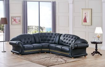 ✅ Apolo Sectional Black Left by ESF | VivaSalotti.com | pic5