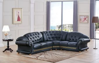 ✅ Apolo Sectional Black Right by ESF | VivaSalotti.com | pic7