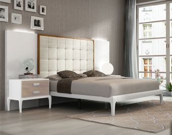 ✅ Malaga Queen Size Bed by ESF | VivaSalotti.com | pic1