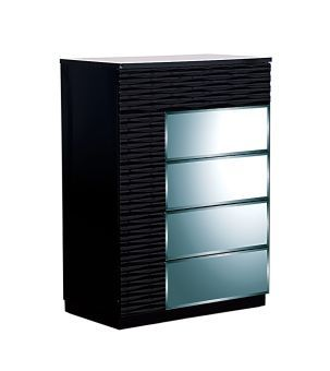 Manhattan Black High Gloss Chest