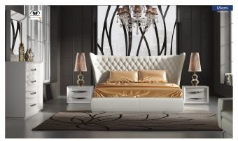 ✅ Carmen Bedroom Set White with Miami Bed by ESF | VivaSalotti.com | pic