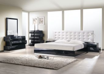 ✅ Milan King Size Bed in Black | VivaSalotti.com | pic1
