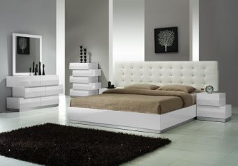 ✅ Milan Bedroom Set In White | VivaSalotti.com | pic