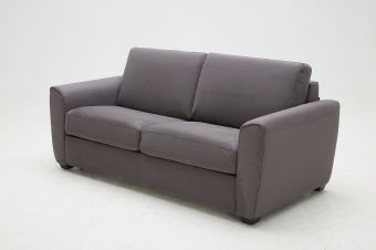 ✅ Mono Sofa Bed in Grey Fabric | VivaSalotti.com | pic1