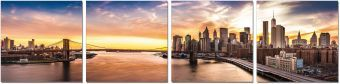 ✅ Wall Art New York Sunset | VivaSalotti.com | pic1