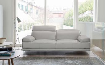✅ Nicolo Loveseat Light Grey | VivaSalotti.com | pic3
