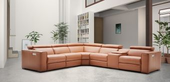 ✅ Picasso 6Pc Motion Sectional Caramel | VivaSalotti.com | pic7