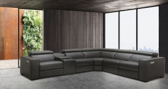 ✅ Picasso 6Pc Motion Sectional Dark Grey | VivaSalotti.com | pic11