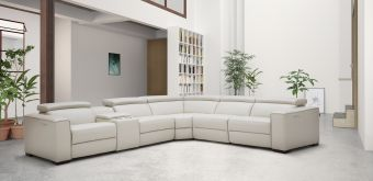 ✅ Picasso 6Pc Motion Sectional Silver Grey | VivaSalotti.com | pic14