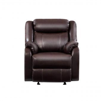 U9303C Glider Recliner Brown