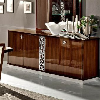 ✅ Roma 4 Door Buffet Walnut by ESF | VivaSalotti.com | pic6