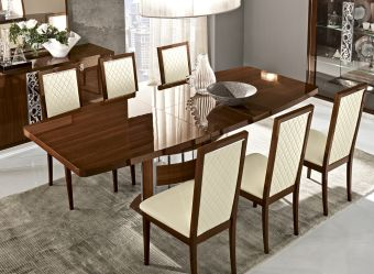 ✅ Roma Dining Table Walnut by ESF | VivaSalotti.com | pic2