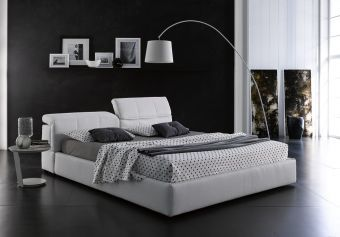 ✅ Tower Queen Storage Bed in White | VivaSalotti.com | pic