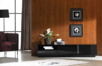 ✅ TV Stand 027 in Black High Gloss | VivaSalotti.com | pic1