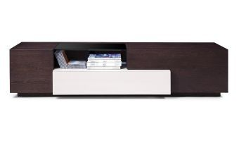 ✅ TV015 Brown Oak/Grey Gloss | VivaSalotti.com | pic1